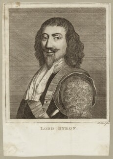 John Byron, 1st Baron Byron, by P. or S. Paul (Samuel de Wilde?) - NPG D26620