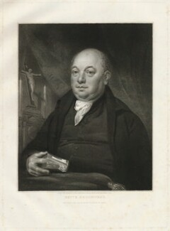 Rowland Broomhead, by Edward Scriven, after  Joseph Allen - NPG D32195