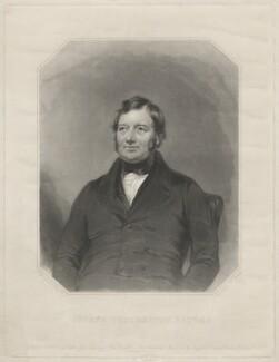 Joseph Brotherton, by Samuel William Reynolds Jr, after  Charles Allen Duval, published 1844 - NPG D32196 - © National Portrait Gallery, London