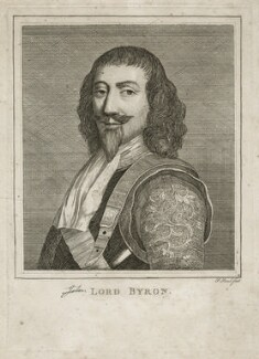John Byron, 1st Baron Byron, by P. or S. Paul (Samuel de Wilde?) - NPG D26623