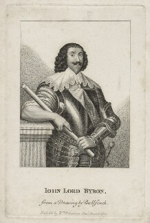 John Byron, 1st Baron Byron, after Unknown artist, published by  William Richardson - NPG D26624