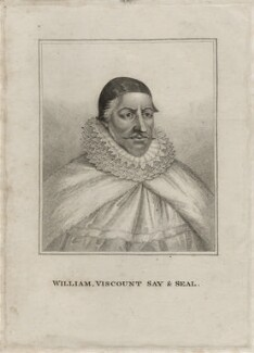 William Fiennes, 1st Viscount Saye and Sele, after Unknown artist - NPG D26626