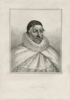 William Fiennes, 1st Viscount Saye and Sele, after Unknown artist - NPG D26627