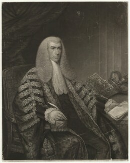 Henry Brougham, 1st Baron Brougham and Vaux, by John George Murray, and by  John Porter, after  Robert Bowyer - NPG D32199