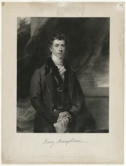 Henry Brougham, 1st Baron Brougham and Vaux, by William Walker, after  Sir Thomas Lawrence - NPG D32200