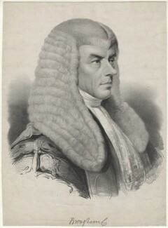 Henry Brougham, 1st Baron Brougham and Vaux, by John Samuelson Templeton - NPG D32203