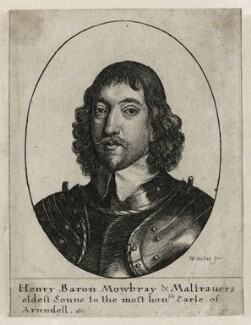 Henry Frederick Howard, 15th Earl of Arundel, 5th Earl of Surrey and 2nd Earl of Norfolk, by Wenceslaus Hollar, mid 17th century - NPG D26635 - © National Portrait Gallery, London