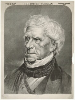 Henry Brougham, 1st Baron Brougham and Vaux, by Unknown artist, after an intermediary drawing by  Thomas Dewell Scott - NPG D32208