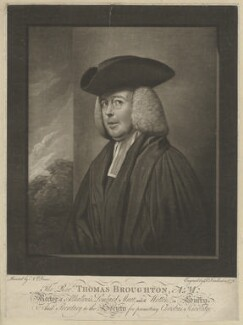 Thomas Broughton, by Robert Dunkarton, after  Nathaniel Dance (later Sir Nathaniel Holland, Bt) - NPG D32210