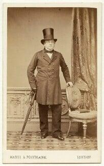 Edward John Stanley, 2nd Baron Stanley of Alderley, by Maull & Polyblank, early-mid 1860s - NPG x26556 - © National Portrait Gallery, London