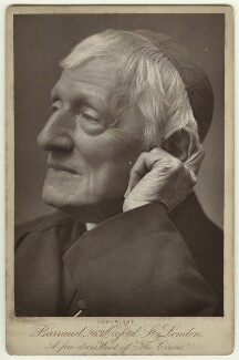 John Newman, by Herbert Rose Barraud, circa 1888 - NPG  - © National Portrait Gallery, London
