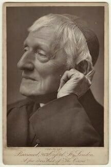 John Newman, by Herbert Rose Barraud, circa 1888 - NPG x21517 - © National Portrait Gallery, London