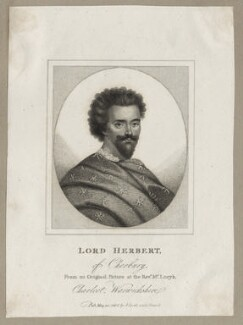Edward Herbert, 1st Baron Herbert of Cherbury, published by John Scott - NPG D26651