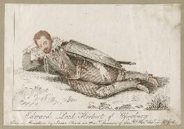 Edward Herbert, 1st Baron Herbert of Cherbury, after Isaac Oliver - NPG D26652