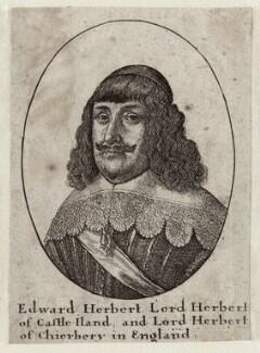 Edward Herbert, 1st Baron Herbert of Cherbury, by Wenceslaus Hollar - NPG D26653