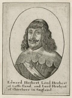 Edward Herbert, 1st Baron Herbert of Cherbury, by Wenceslaus Hollar - NPG D26654