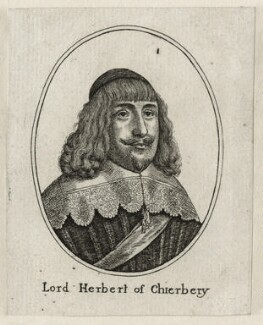 Edward Herbert, 1st Baron Herbert of Cherbury, after Wenceslaus Hollar - NPG D26655