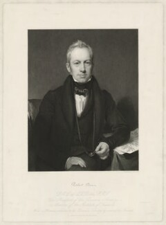 Robert Brown, by Charles Fox, after  Henry William Pickersgill - NPG D32220