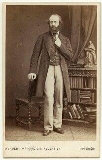 Robert Gascoyne-Cecil, 3rd Marquess of Salisbury, by Herbert Watkins - NPG x75845
