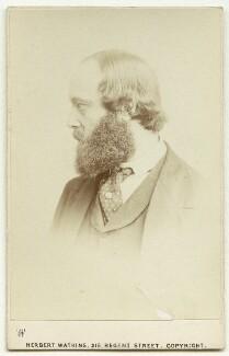 Robert Gascoyne-Cecil, 3rd Marquess of Salisbury, by Herbert Watkins - NPG x75846