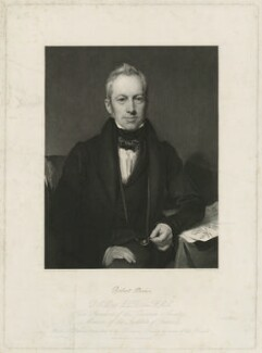 Robert Brown, by Charles Fox, after  Henry William Pickersgill - NPG D32221