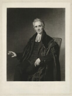 Dr Brown, by Samuel Cousins, and by  Henry Cousins, after  John Graham - NPG D32224