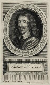 Arthur Capel, 1st Baron Capel, by George Vertue - NPG D26664