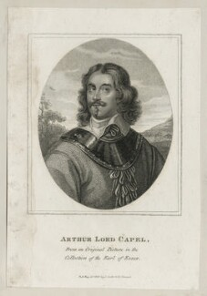 Arthur Capel, 1st Baron Capel, published by John Scott - NPG D26665