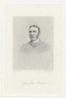 John Michael Browne, by Joseph Brown, after  John Golden Short - NPG D32226
