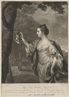 Anne Sandby (née Stogden), by Edward Fisher, after  Francis Cotes - NPG D9091