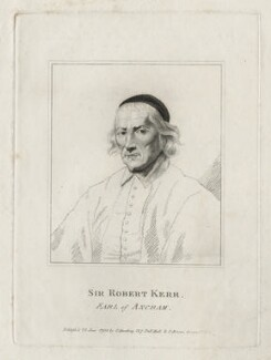 Robert Ker, 1st Earl of Ancram, published by Silvester Harding, after  Unknown artist - NPG D26668