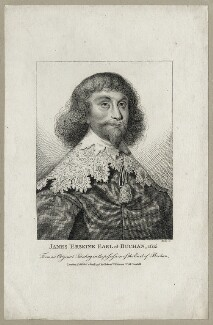 James Erskine, 6th Earl of Buchan, by Thomas Trotter, published by  Robert Wilkinson - NPG D26669