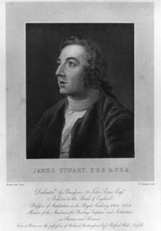 James Stuart, by William Camden Edwards, after  Samuel Provan - NPG D9092