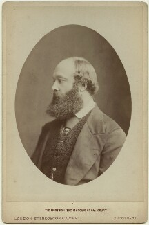 Robert Gascoyne-Cecil, 3rd Marquess of Salisbury, by London Stereoscopic & Photographic Company - NPG x6853
