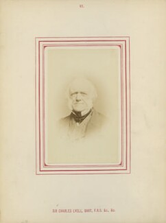 Sir Charles Lyell, 1st Bt, by George Charles Wallich, published by  John Van Voorst - NPG Ax14785