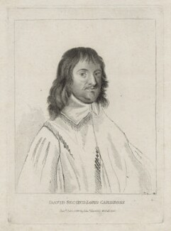 David Erskine, 2nd Lord Cardross, published by Edward Harding - NPG D26682