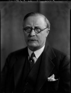 Sir Robert Arthur Johnson, by Bassano Ltd - NPG x151957