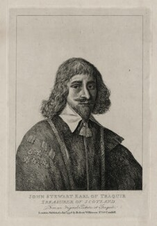John Stewart, 1st Earl of Traquair, after Unknown artist - NPG D26684