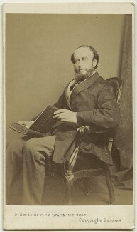 (William) Torrens McCullagh Torrens, by John & Charles Watkins - NPG Ax8596