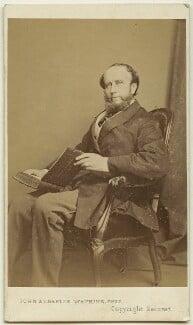 (William) Torrens McCullagh Torrens, by John & Charles Watkins, 1860s - NPG Ax8596 - © National Portrait Gallery, London