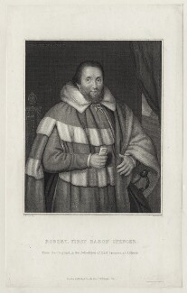 Robert Spencer, 1st Baron Spencer, by William Skelton, after  Thomas Uwins - NPG D26691