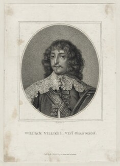 William Villiers, 2nd Viscount Grandison, by Benedetto Pastorini, published by  John Scott - NPG D26692