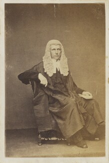 Roundell Palmer, 1st Earl of Selborne, by Unknown photographer - NPG Ax9521