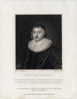 John Williams, by James Stow, after  Cornelius Johnson (Cornelius Janssen van Ceulen) - NPG D26715