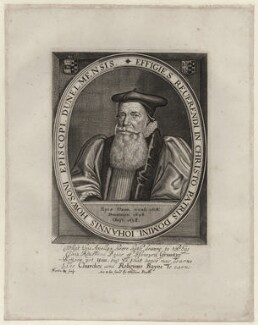 John Howson, by Martin Droeshout, published by  Sir Robert Peake - NPG D26718