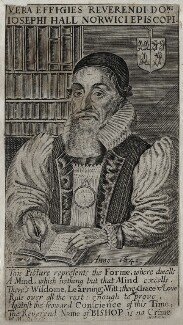 Joseph Hall, by William Marshall, after  Unknown artist - NPG D26728