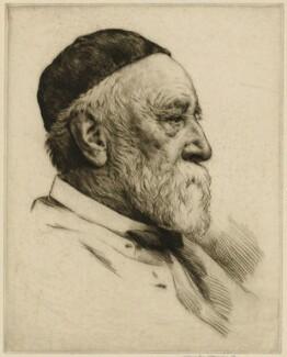 George Frederic Watts, by Mortimer Luddington Menpes - NPG D32233