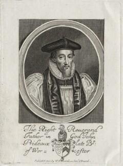 John Prideaux, after William Faithorne, published by  William Richardson - NPG D26743