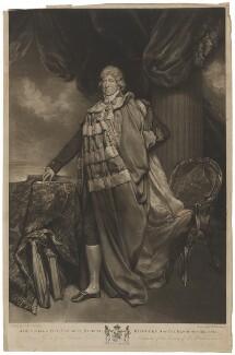 James Duff, 2nd Earl of Fife, by Robert Dunkarton, after  Arthur William Devis - NPG D9104