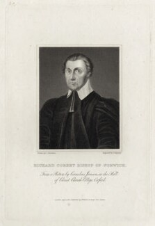Richard Corbett, by John Romney, after  Cornelius Johnson (Cornelius Janssen van Ceulen) - NPG D26746